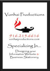 Logo and Graphic design by Vonhai Productions